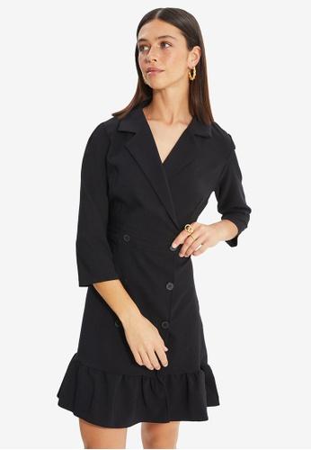Trendyol black Jacket Dress 1B5A3AA936F34AGS_1