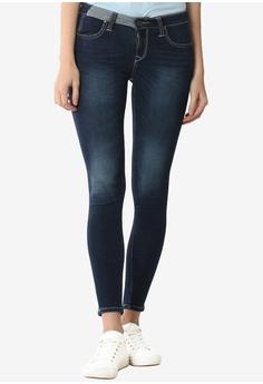c221edf1 Lee blue Women's 101+ Edeline Denim Jeans Super Slim Narrow (Deep Ocre)  5EE67AACC713A9GS_1