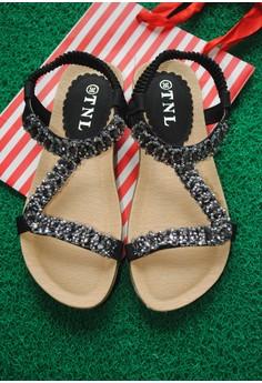 TNL Raine Sandals (Black)