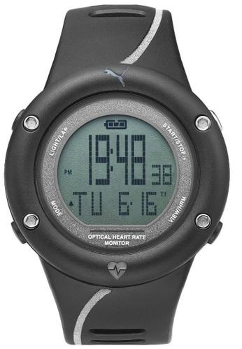 Puma black PU911291002 Optical Cardiac Reflective Black PU strap Digital Men Watch PU549AC0RKGQMY_1