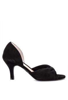 fc8416bf5c1 Suki black Peeptoe Heels B8D83SH4A1685EGS 1