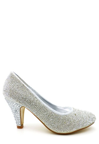 Emily Dillen white Emily Dillen Fiona Shoes 397-386A Silver EM028SH48XADID_1