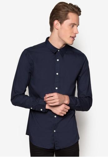 府綢esprit服飾長袖襯衫, 服飾, 襯衫