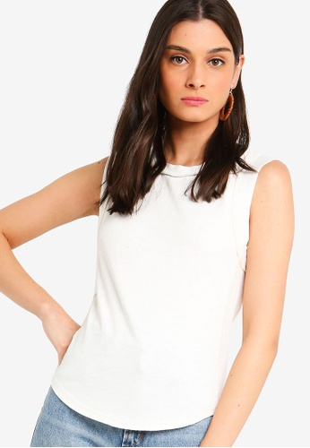Free People white Go To Tank F31A9AA4694FE5GS_1
