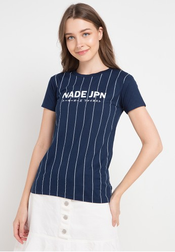 Nade multi and navy S/S Lds Jpn Ver Line BC6ECAA3526723GS_1