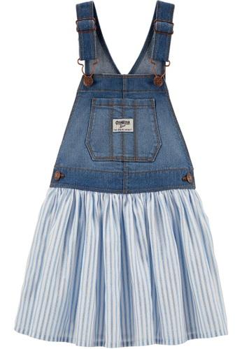 Oshkosh B'gosh blue OSH KOSH Girl Sparkle Stripe Jumper 2062FKAE4AC5F0GS_1