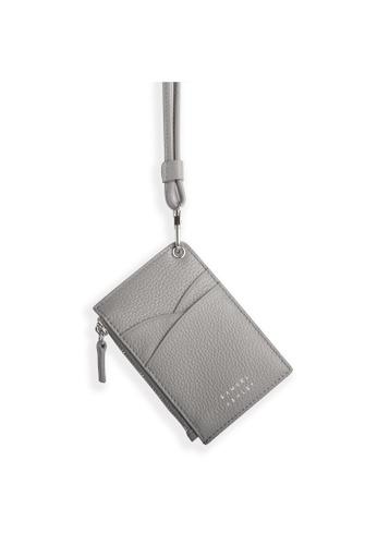 Samuel Ashley grey Robyn ID Badge Holder - Grey CA25BACFDED411GS_1