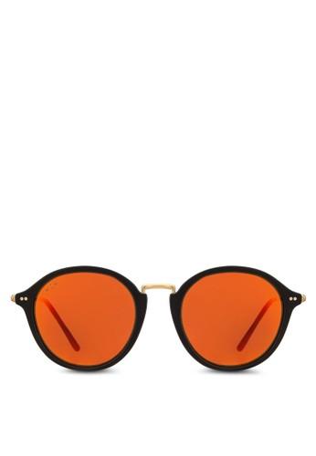esprit台灣Maui 反光圓框太陽眼鏡, 飾品配件, 飾品配件