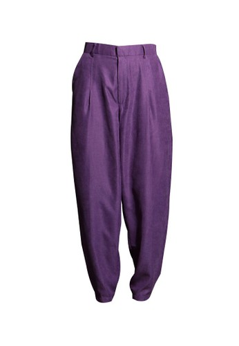 Vivi Zubedi purple Cordoray Baggy Pants 50797AA3C2C909GS_1