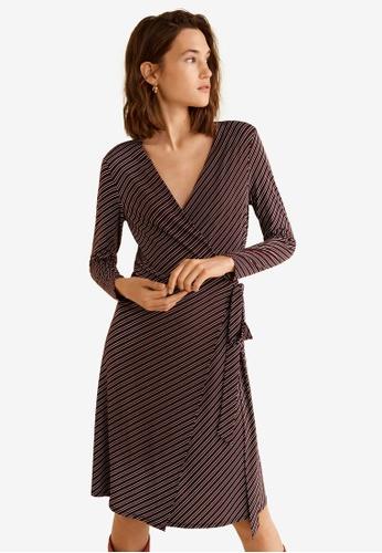 52228f8063f Buy Mango Bow Wrap Dress Online on ZALORA Singapore
