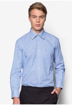 Long Sleeve Shirt With Checks