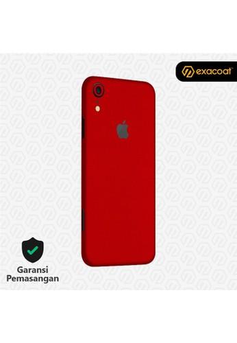 Exacoat iPhone XR Skins True Colors - Lust Red C215FESA3DD7E5GS_1