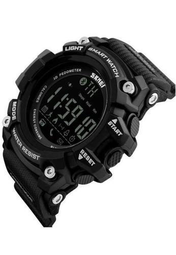 Jual Skmei Jam Tangan Olahraga Smartwatch Bluetooth Sporty Pedometer Strap Silikon Waterproof ORIGINAL DG1227 BL Original