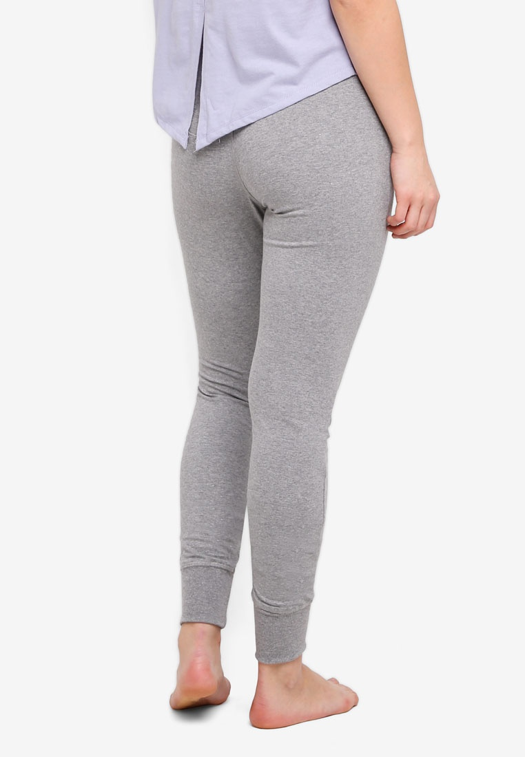 Pants Marle Cotton Jersey Body Grey On Mid 7wxwYAq