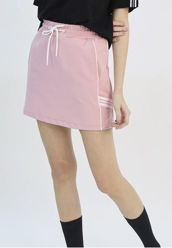 Cheetah pink Cheetah Athleisure Ladies Short Skirt - CAL-12306-C3 E5ECAAA8C6CA53GS_1
