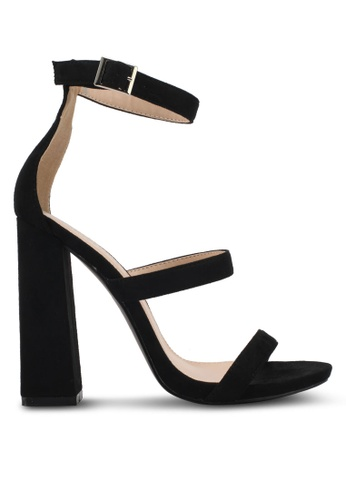 31846aef07fa Shop Public Desire Oyster Three Strap Block Heels Online on ZALORA  Philippines