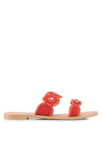 ZALORA orange Bohemian-Look Sandals A2859SH8A8F7B1GS_1