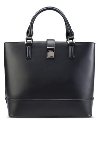 扣環提把購物手提包、 包、 包ZALORA扣環提把購物手提包最新折價