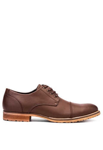 Mendrez brown Formal Shoes ME992SH18VWNPH_1