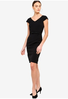 5260eb433a FORCAST Rowan Belted Dress S  101.90. Available in several sizes
