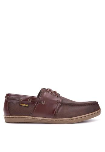 Caterpillar brown Men's Boat Shoes CA367SH84NQHPH_1