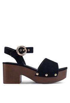 c702f07785d2 TOPSHOP black Dinky Black Clog Sandals 0CF3ASH597D0CCGS_1