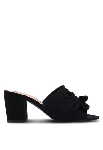Dorothy Perkins black Black Widefit Solo Mules 5D86ESH9F8C498GS_1