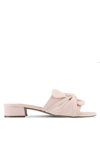 Dorothy Perkins pink Blush Summer Twist Mules 9DF12SH2CA4F36GS_1