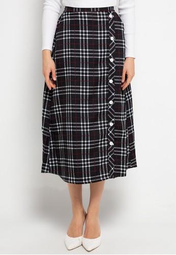 FAME black Long skirt FADB3AA90AFA45GS_1