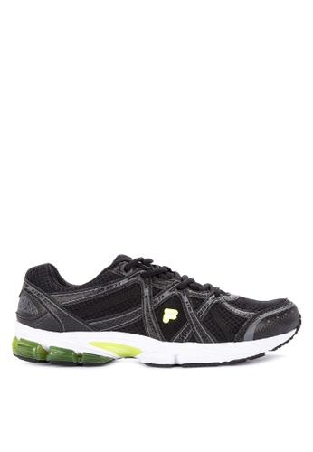 Fila black Motivator Running Shoes 969C7SHEC4228AGS_1