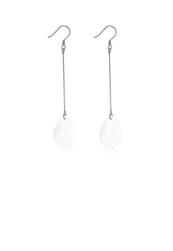 Glamorousky silver 925 Sterling Silver Simple Long Earrings C3B7FACB85ABF3GS_1
