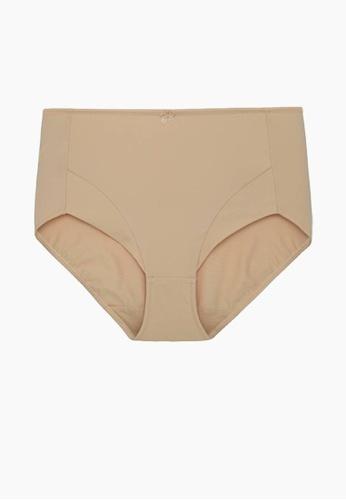 SABINA brown Boyleg Plus Size Panty 1757FUS7A3EF17GS_1
