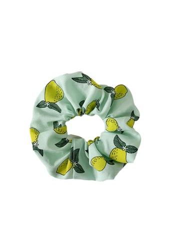 Kings Collection green Green Pear Scrunchy (HA20046) FD7E9AC840EA7AGS_1