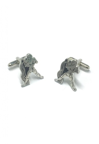 Splice Cufflinks silver Horoscope Aquarius Cufflinks   SP744AC88DSHSG_1