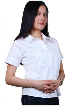 Cherry Fashionable Ladies Work Shirts/Formal Shirt