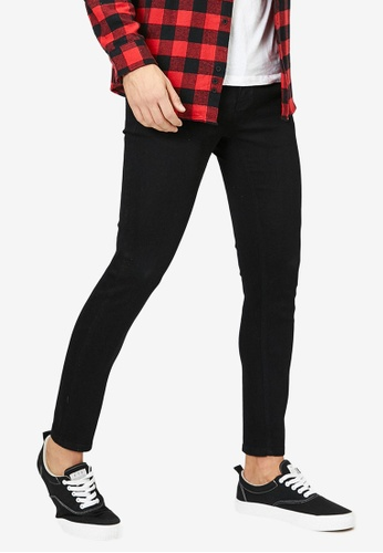 KOTON black Ankle Skinny Jeans 5390DAABF900A1GS_1
