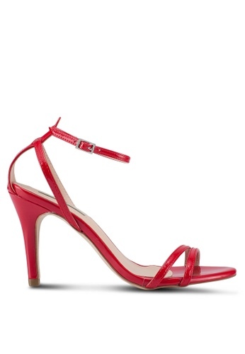 Nose red Strappy Heels 55703SH0940F78GS_1