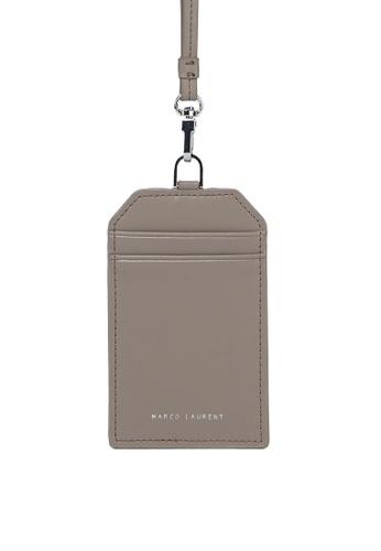 MARCO LAURENT beige Card holder 4740FAC6843DA2GS_1
