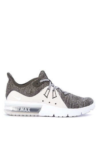 Nike white Women's Nike Air Max Sequent 3 Running Shoes NI126SH0STTPMY_1