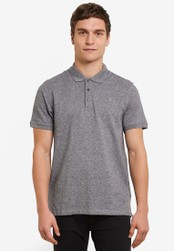 Burton Menswear London black Jasper Polo Shirt BU964AA0S7F1MY_1