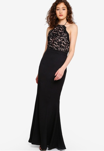 f70b1119d7ea Buy JARLO LONDON Chelsea Lace Top Dress Online on ZALORA Singapore