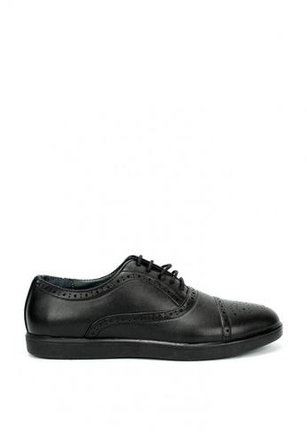Cardam's Lifestyle black Sage Formal Shoes 83A3ESH45FA67FGS_1