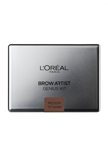 L'Oréal Paris brown L'Oreal Paris Brow Artist Genius Kit Dark LO618BE63MKEMY_1