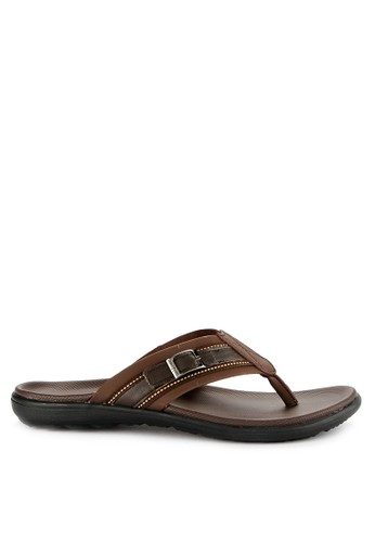 Homyped brown Manta 01 Men Sandals 74208SH507D18AGS_1