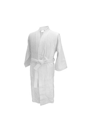 Charles Millen Charles Millen Bathrobe Kimono Style ( light weight, Stylish Robe ). D1BA1HLC3F6379GS_1