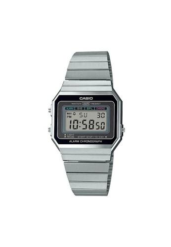 Casio silver CASIO GENERAL A700W-1ADF UNISEX'S WATCH E1E1BAC9A03F26GS_1