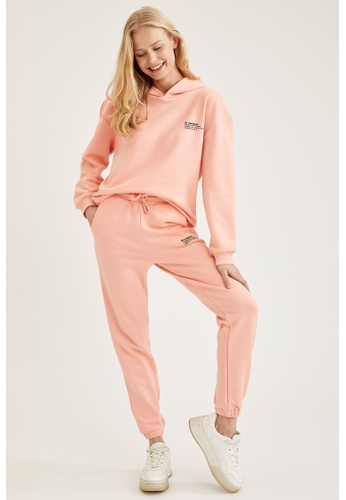 DeFacto pink Woman Athleisure Knitted Trouser 4BDAEAA6130AB1GS_1