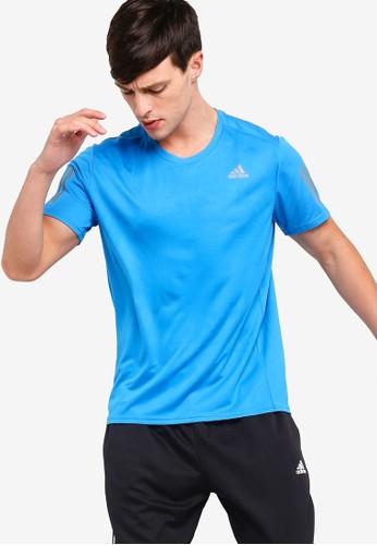 adidas blue adidas response tee m EEAFDAAC8E942AGS_1