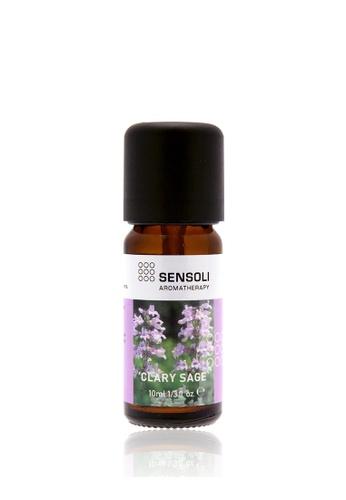 Sensoli Aromatherapy SENSOLI Clary Sage Pure Essential Oil 10ml 15497HLEFB23A8GS_1