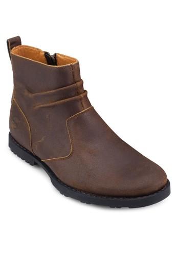 Easzalora taiwan 時尚購物網t Harbor 側拉鍊切爾西短靴, 鞋, 鞋